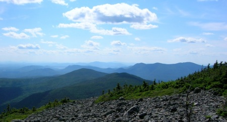 View from the summit of White Cap.