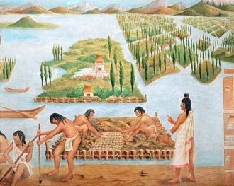 The environment of the aztec people