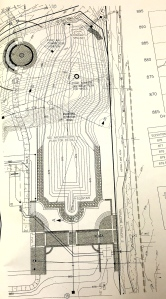 Part of pond blueprints