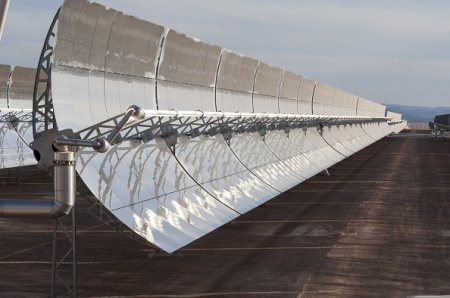 Morocco launches first solar power plant
