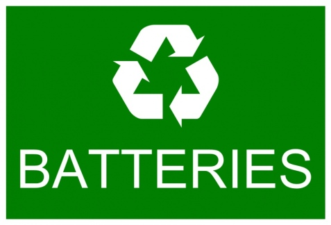 Image result for recycled batteries