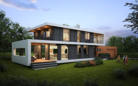 Project-Kelowna Passive House 1
