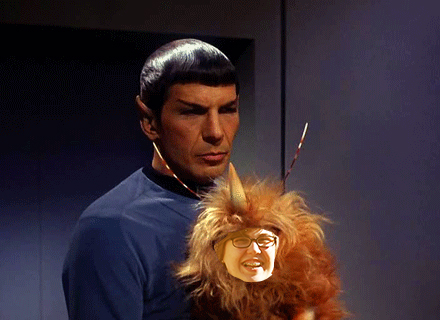 me and spock